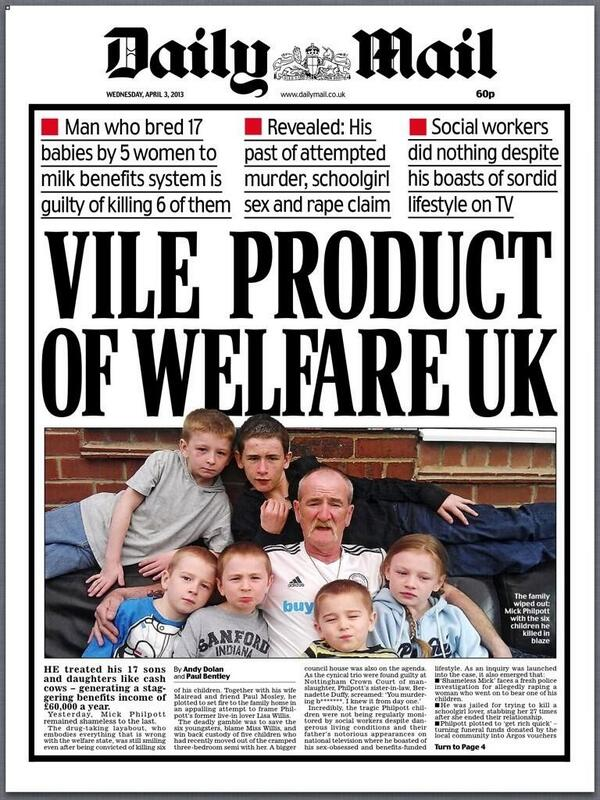 Vile Daily Mail