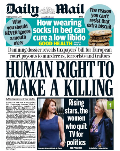 daily mail human rights