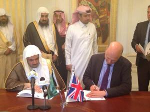 UK & Saudi Ministers of Justice