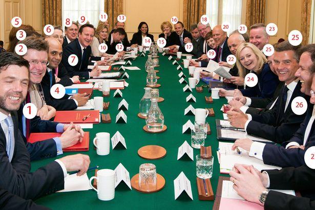 2015 Cabinet